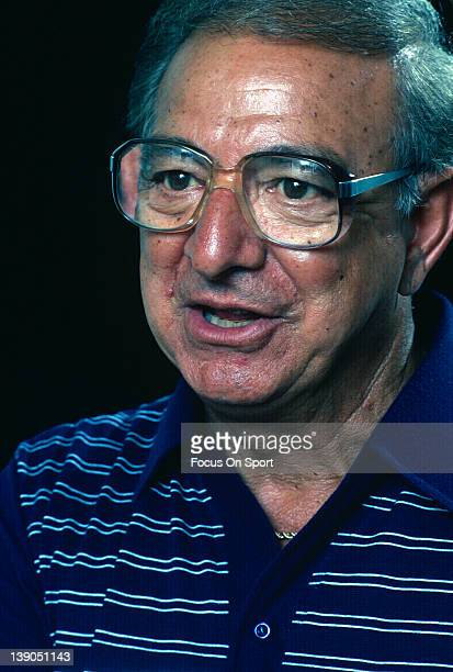Boxing trainer Angelo Dundee poses for this photo circa 1983 Dundee was trainer to heavyweight champ Muhammad Ali and welterweight champ Sugar Ray...