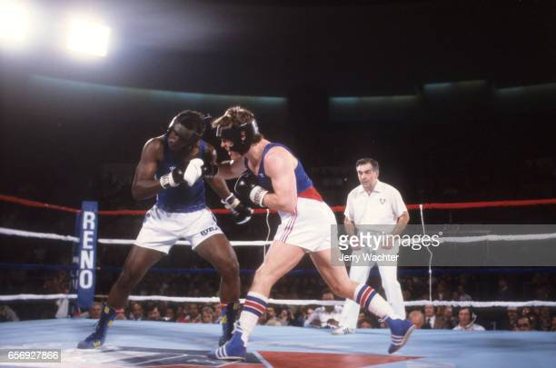 USA Henry Milligan in action vs Cuba Aurelio Toyo at Lawlor Special Events Center Reno NV CREDIT Jerry Wachter