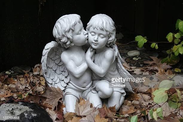Boy and Girl Cherubs