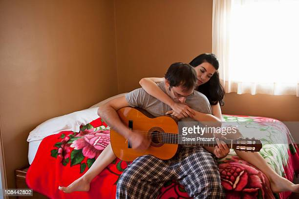 Boy and Girl on bed