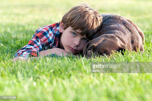 Boy and His Bestfriend the Dog