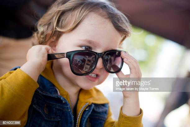 boy and sunglasses