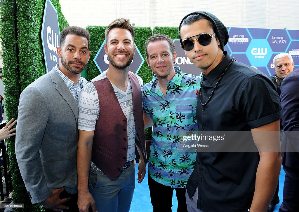 Boy Band <a gi-track='captionPersonalityLinkClicked' href=/galleries/search?phrase=O-Town&family=editorial&specificpeople=1076045 ng-click='$event.stopPropagation()'>O-Town</a> attends the 2014 Young Hollywood Awards brought to you by Mr. Pink held at The Wiltern on July 27, 2014 in Los Angeles, California.