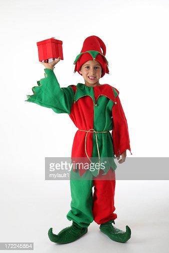 boy Christmas elf