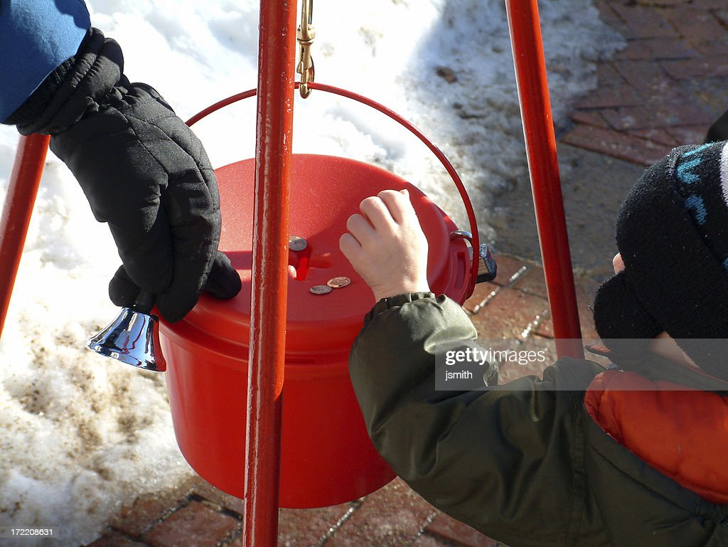 Boy Donating