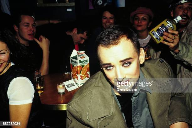 Boy George at New Years at 10 Club New York New York December 31 1993
