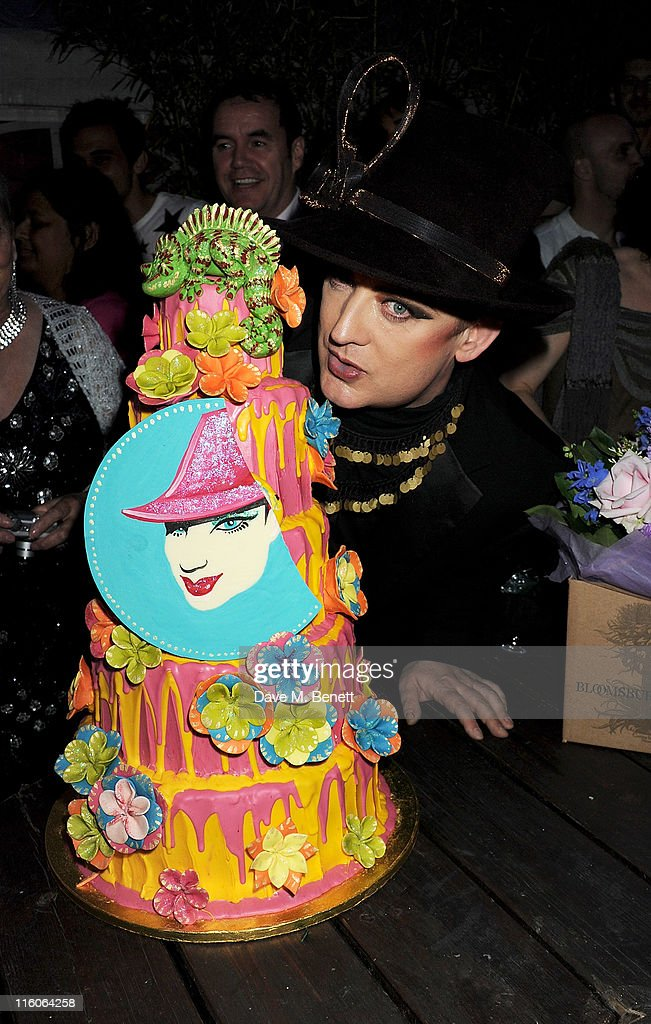<a gi-track='captionPersonalityLinkClicked' href=/galleries/search?phrase=Boy+George&family=editorial&specificpeople=203135 ng-click='$event.stopPropagation()'>Boy George</a> attends his 50th Birthday celebration on June 14, 2011 in London, England.