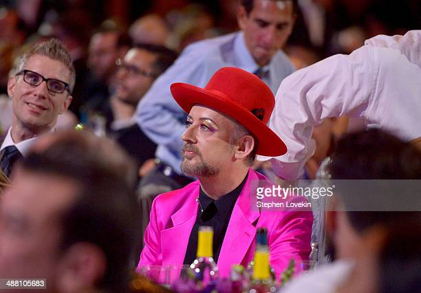 Boy George attends the 25th Annual GLAAD Media Awards on May 3 2014 in New York City
