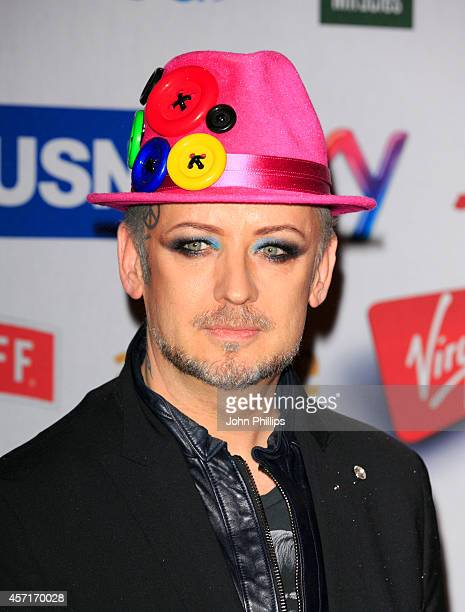 Boy George attends the Attitude Awards at Banqueting House on October 13 2014 in London England