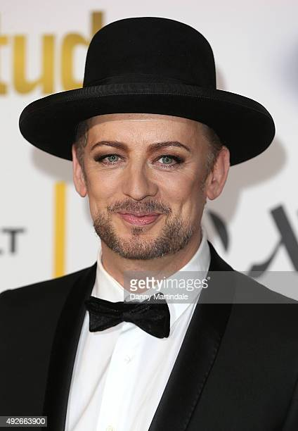Boy George attends the Attitude Magazine Awards at Banqueting House on October 14 2015 in London England