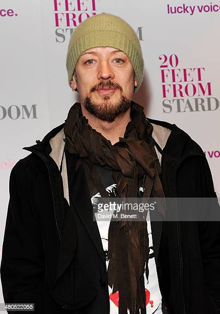Boy George attends the VIP Gala Screening of '20 Feet From Stardom' at the Screen on the Green on March 25 2014 in London England