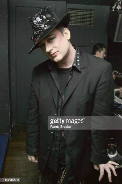 Boy George during Avalon One Year Anniversary at Avalon in New York City New York United States