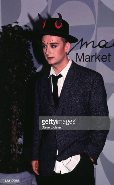 Boy George during Boy George 112293 in New York City New York United States