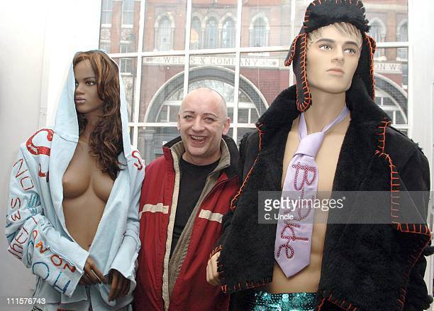 Boy George during BRude Store Opening December 14 2006 at Shoreditch High Street in London Great Britain
