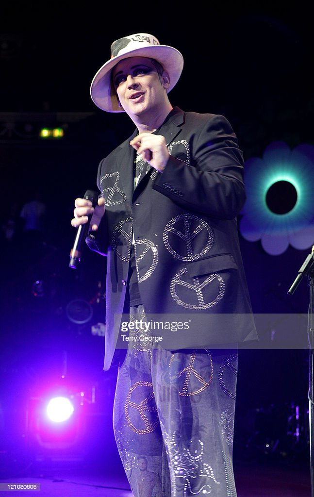 Boy George during Europride 2006 - Show at Royal Albert Hall in London, Great Britain.