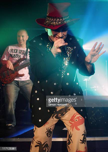 Boy George during Soho Revuebar Renaming Party at Too2Much in London Great Britain