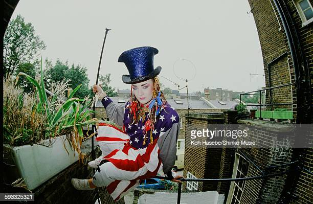 Boy George in London London June 1982