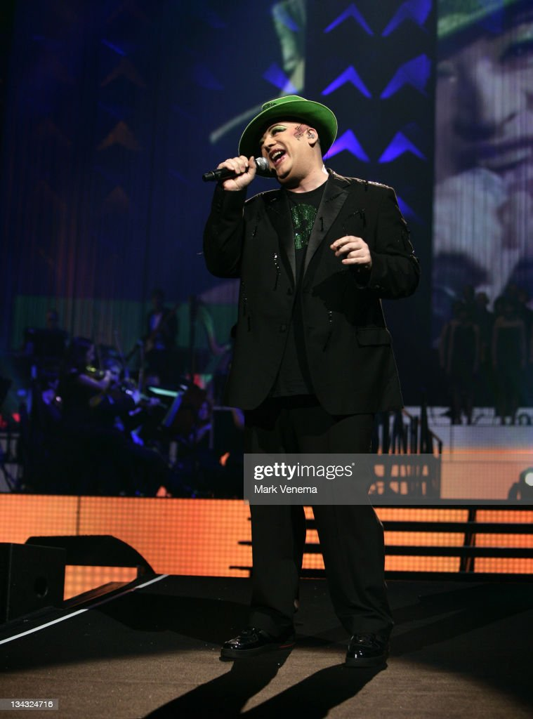 Boy George performs at Night of the Proms at Gelredome on November 13 2010 in Arnhem Netherlands