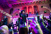 Boy George performs onstage at the Hollywood Roosevelt Hotel on December 31 2015 in Hollywood California