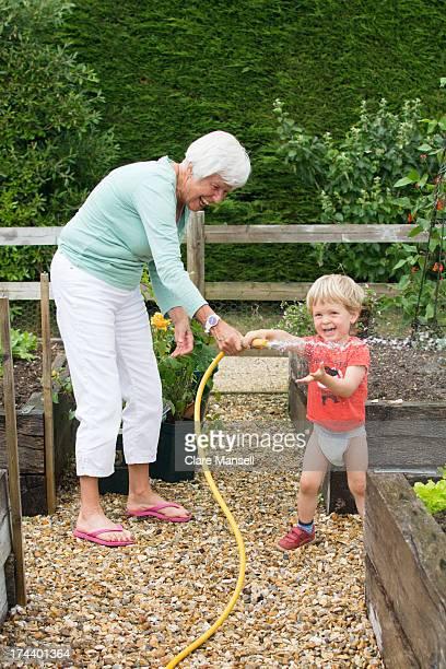 Boy & Grandma