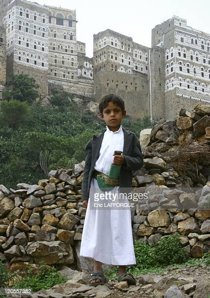 Boy in Al Hajara Yemen on May 18 2005