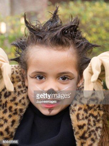 Boy in costume : Stock Photo