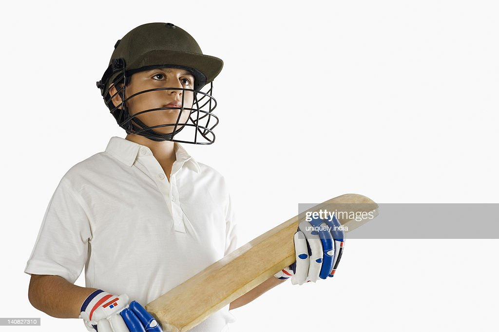 a cricket boy