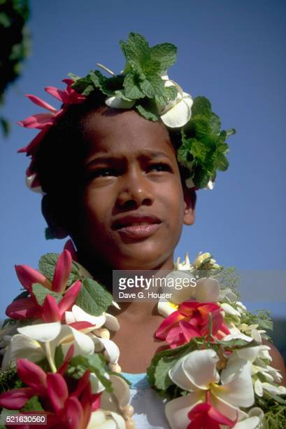 Boy in Nuku Hiva
