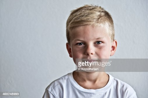 Boy in t-shirt