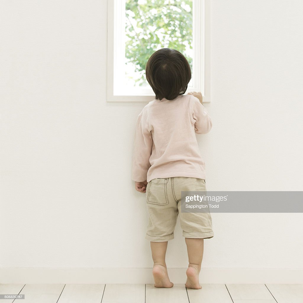 the boy at the window Boy at the window seeing the snowman standing all alone in dusk and cold is more than he can bear the small boy weeps to hear the wind prepare a night of gnashings and enormous moan his tearful sight can hardly reach to where the pale-faced figure with bitumen eyes returns him such a.