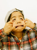 Boy Making Funny Face