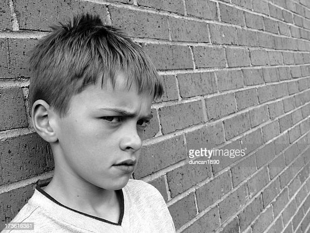 Boy sur le mur