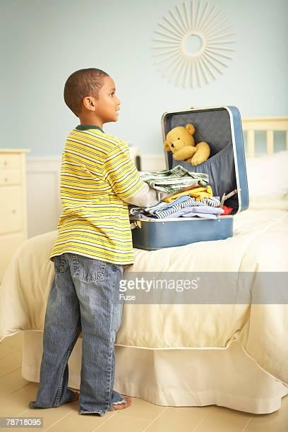 Boy Packing