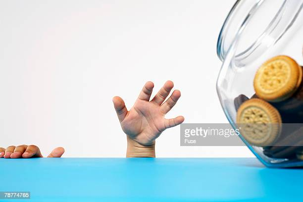 Boy Reaching For Cookie Jar