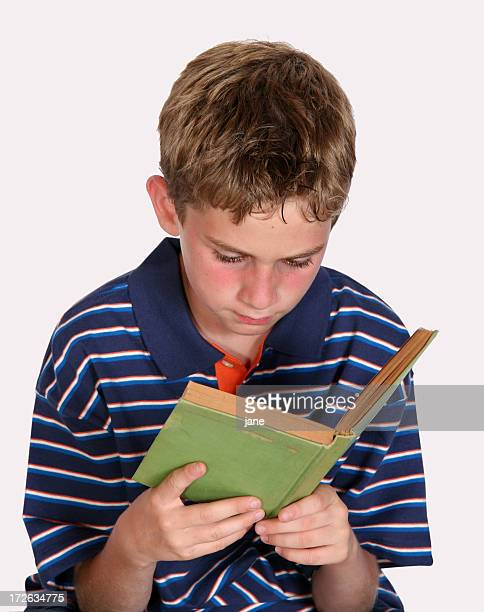 Boy Reading Book III