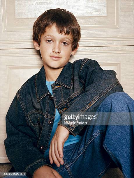Boys Denim Jacket Stock Photos and Pictures | Getty Images