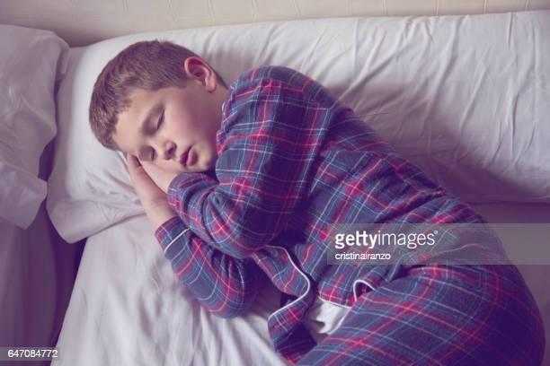 Boy sleeping