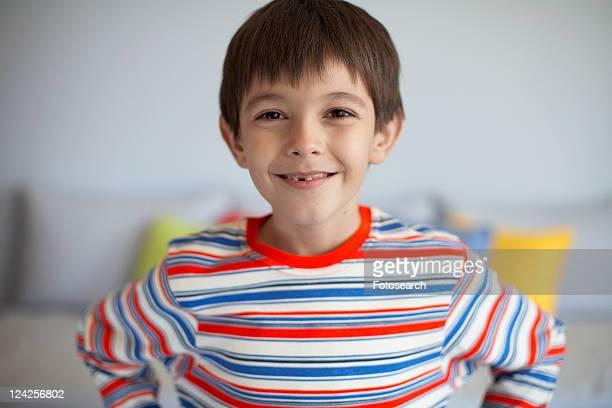 Boy smiling (portrait)