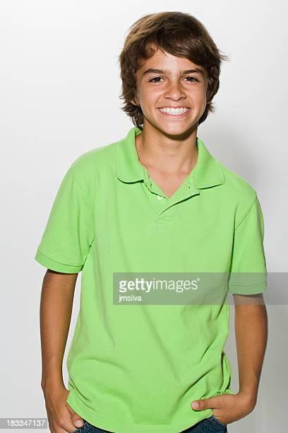 Garçon souriant