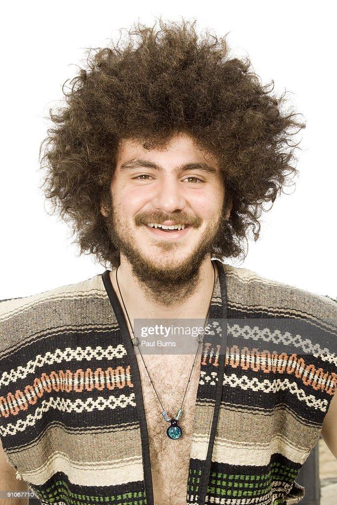 Boy Smiling With White Background : Stock Photo