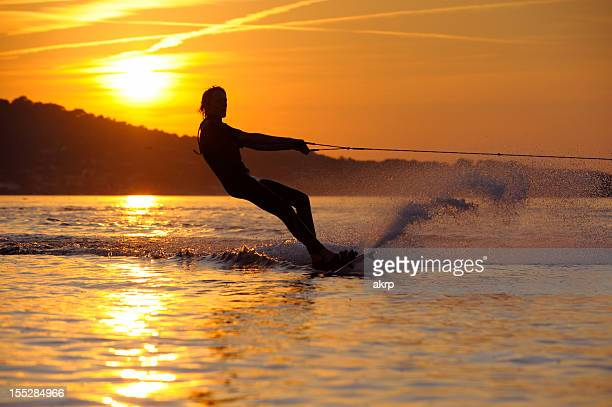 Boy Wakeboarding at French Riviera
