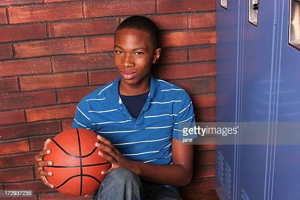 Boy with Basketball