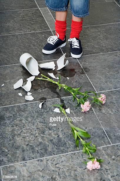 Boy with Broken Vase
