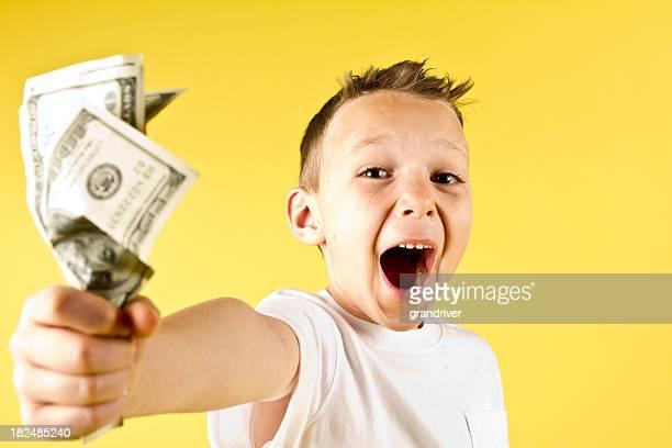 Boy with Cash
