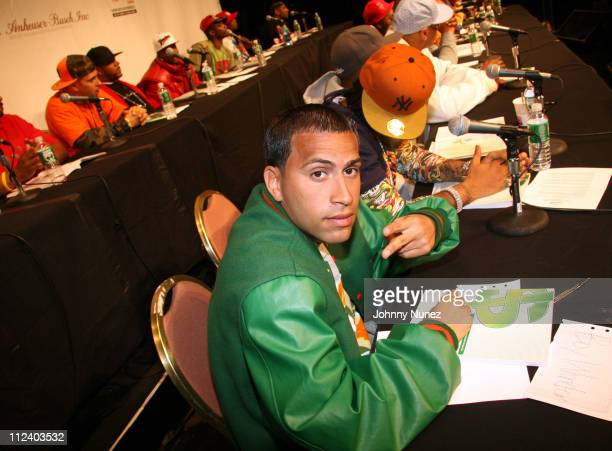 Boy Wonder during Hip Hop Summit Action Network Presents the First Hip Hop Summit on Financial Empowerment at Hammerstein Ballroom in New York City...