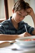 Junge Schreiben