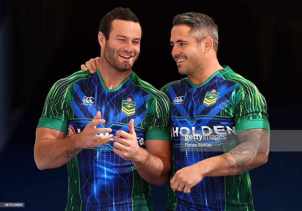 <a gi-track='captionPersonalityLinkClicked' href=/galleries/search?phrase=Boyd+Cordner&family=editorial&specificpeople=7857347 ng-click='$event.stopPropagation()'>Boyd Cordner</a> and Corey Parker arrive for an Australian Kangaroos Captain's Run at Allianz Stadium on May 1, 2014 in Sydney, Australia.