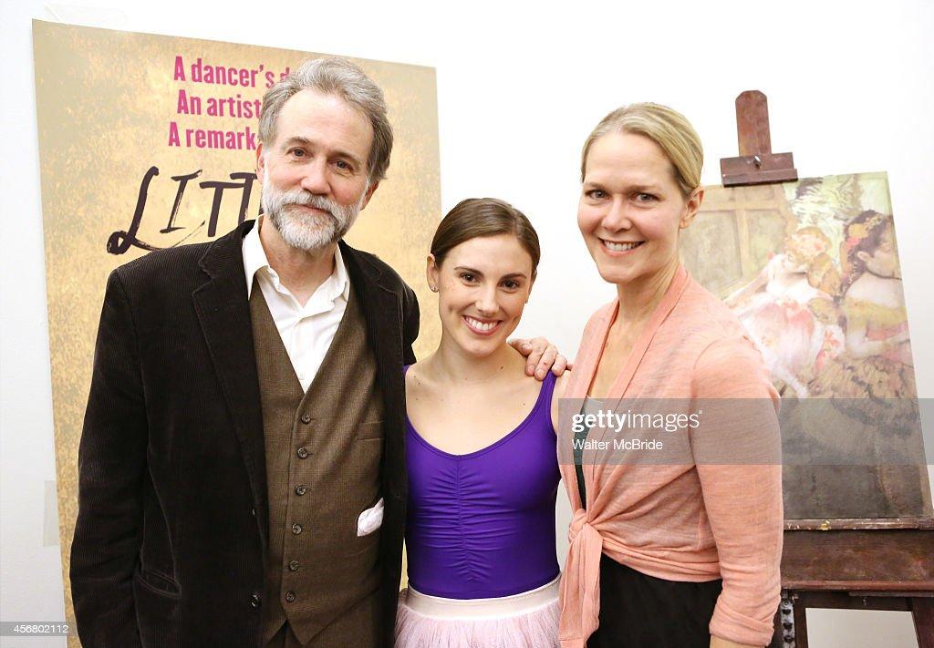 Boyd Gaines and Tiler Peck and Rebecca Luker during the Rehearsal for the Kennedy Center Production of 'Little Dancer A New Musical' at The New 42nd...