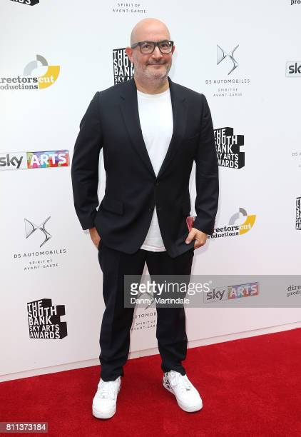 Boyd Hilton attending The Southbank Sky Arts Awards 2017 at The Savoy Hotel on July 9 2017 in London England