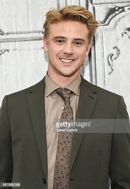 Boyd Holbrook attends AOL Build to discuss 'Narcos' at AOL HQ on August 30 2016 in New York City